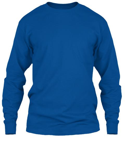 Vet Tech   Word Art T Shirt Royal Long Sleeve T-Shirt Front
