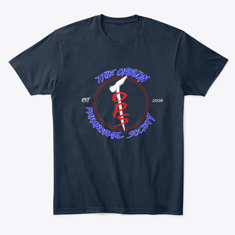 T.O.P.S Original Logo New Navy T-Shirt Front