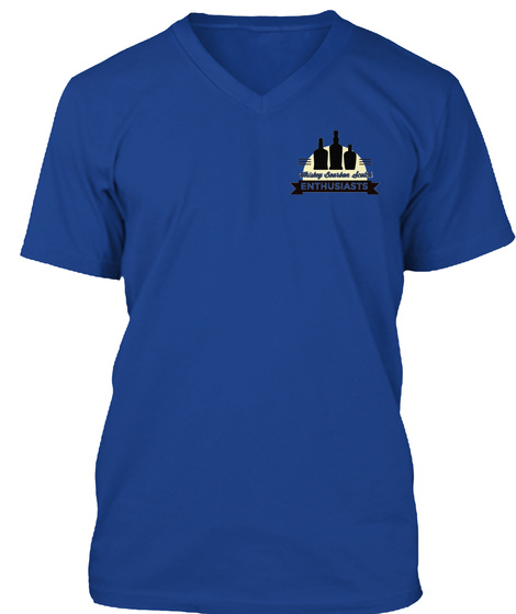Enthusiasts True Royal T-Shirt Front