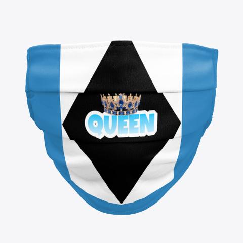 Queen Mask 2 Denim Blue Kaos Front