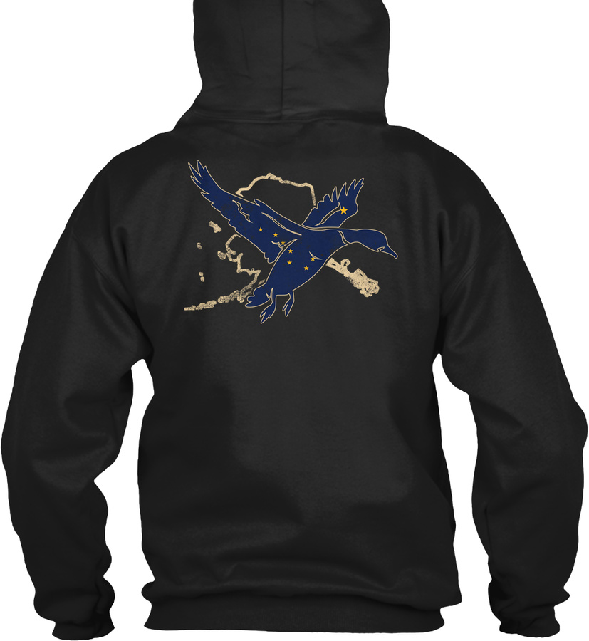 1116 Alaska Waterfowl Duck Hunting Unisex Tshirt