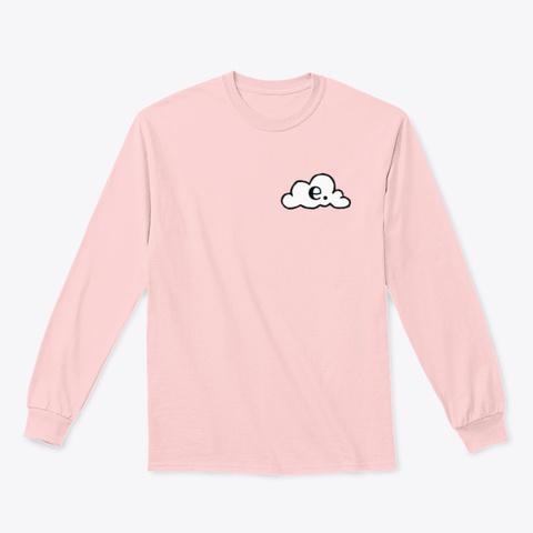 Emanate: The Panda Light Pink T-Shirt Front