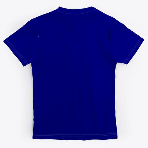 Soakq/Doakq Deep Navy T-Shirt Back