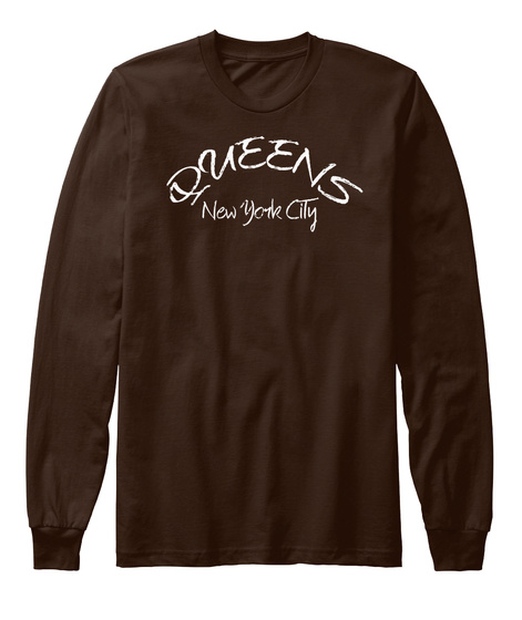Queens New York City Brown Kaos Front