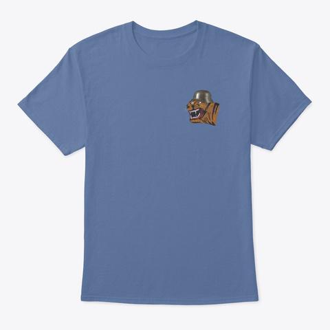 Go Avay! Denim Blue T-Shirt Front