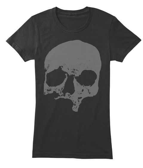 Appalachian Biological Anthropology Black Maglietta da Donna Front