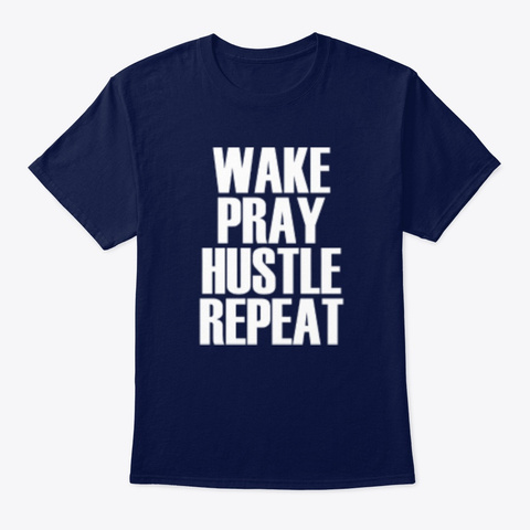 Wphr! Navy T-Shirt Front