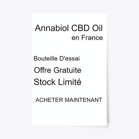 Annabiol Cbd Oil Pharmacie   Officiel Standard T-Shirt Front