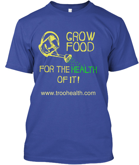 Www.Troohealth.Com Deep Royal T-Shirt Front