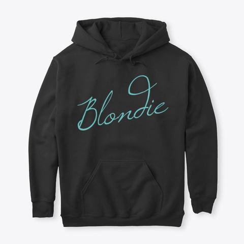 Blondie Black T-Shirt Front