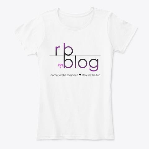 Rb.Blog Logo Merch (Light) White T-Shirt Front