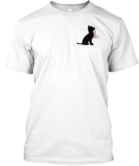 Adopt A Pal White T-Shirt Front