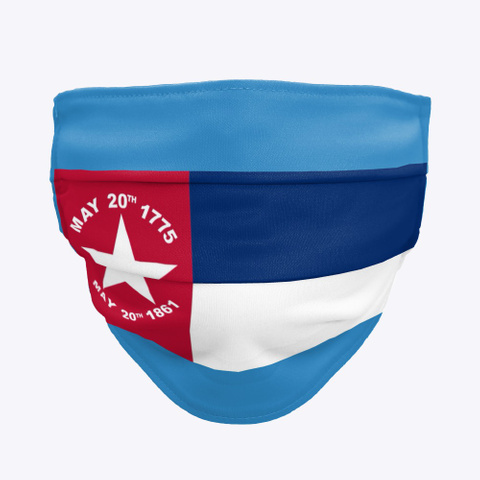 Nc 1775 1861 Denim Blue T-Shirt Front