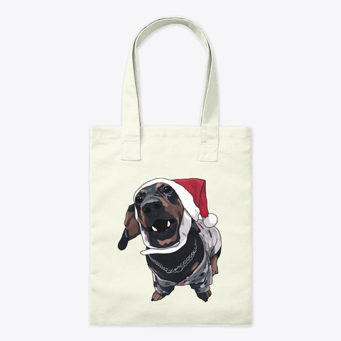 A Dachshund Named Ricky Dicky Von Paul Natural T-Shirt Front