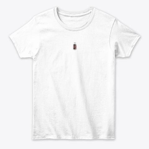 Massive Male Plus  White T-Shirt Front