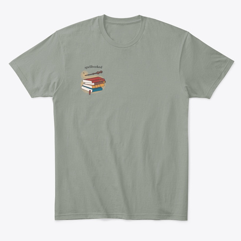 Spellbooked Grey T-Shirt Front