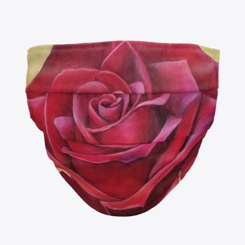 Rose Face Mask Standard Camiseta Front