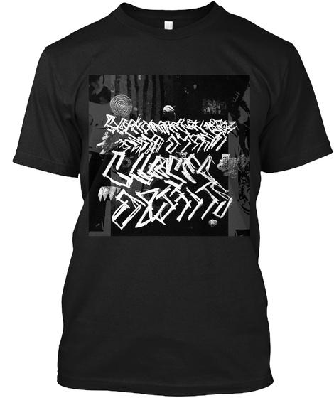 Cursed Objects Split Black T-Shirt Front