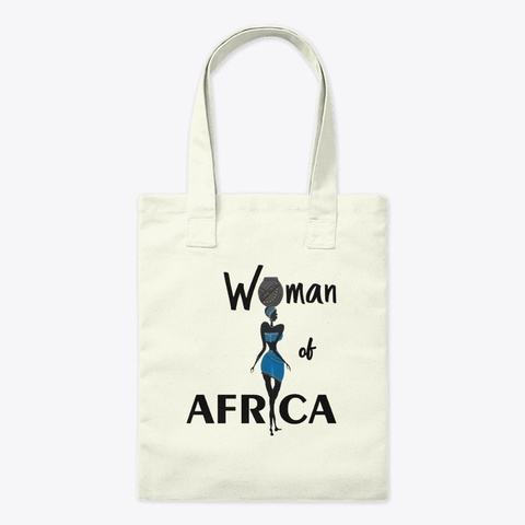 Woman Of Africa Natural T-Shirt Front