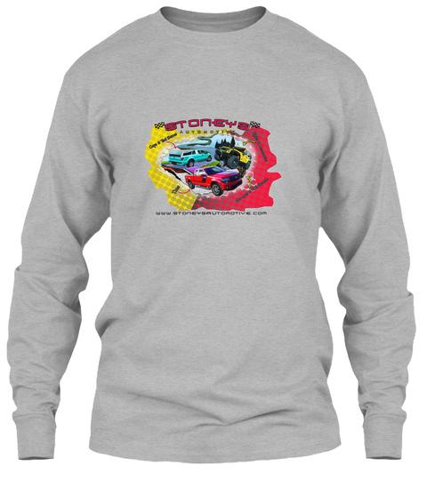 Get The Stoneys Gear Sport Grey T-Shirt Front