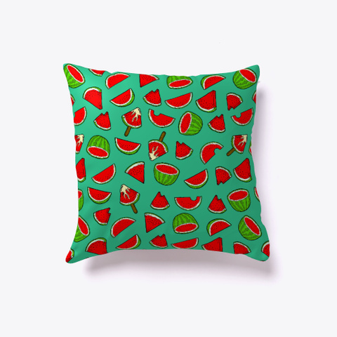 Watermelon Pattern Pillow Standard T-Shirt Back