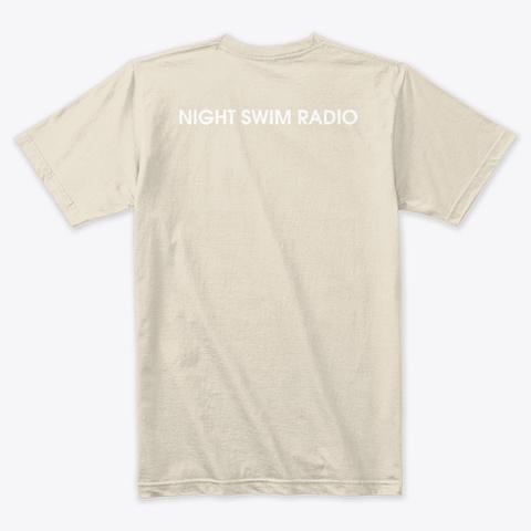 Dive Tee Blue Cream T-Shirt Back