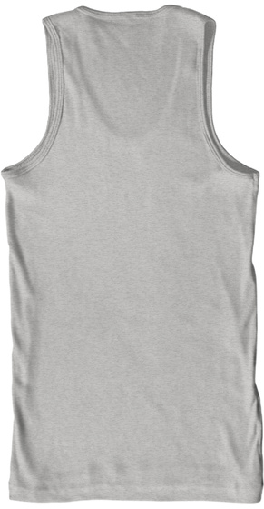 #Hbic Deep Heather Tank Top Back
