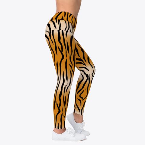 Tiger Stripes Black T-Shirt Right