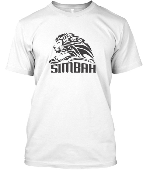 Tribal Lions White Kaos Front