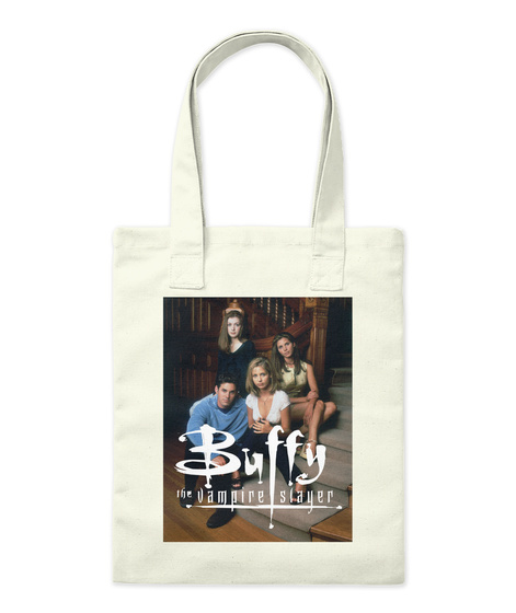 Buffy Tote #1 Natural Tote Bag Front