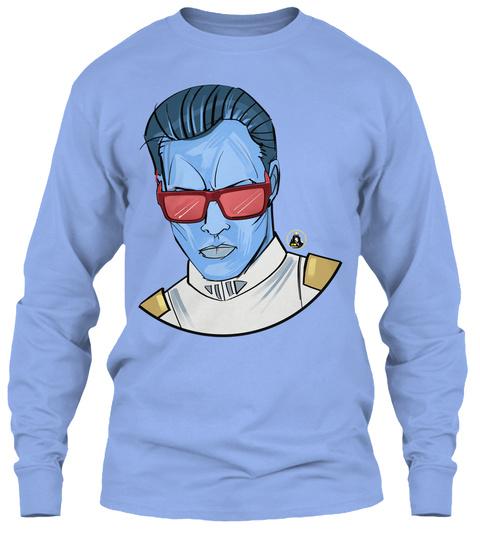 Admiral Attitude Light Blue T-Shirt Front