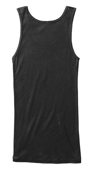 More Love Less Hate   End Soon! Black Tank Top Back