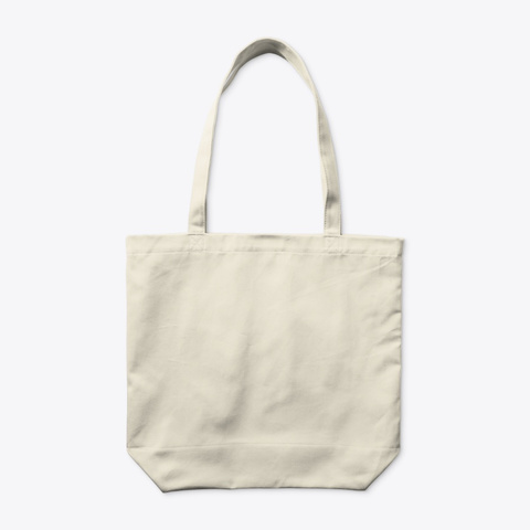 Mip Tote Bag Natural T-Shirt Back