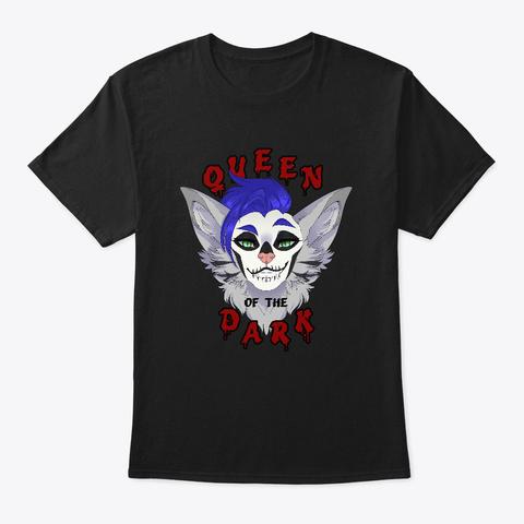 Queen Of The Dark Black T-Shirt Front