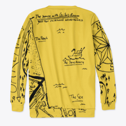 Millaze's Welcome To Oakland Collection Yellow T-Shirt Back