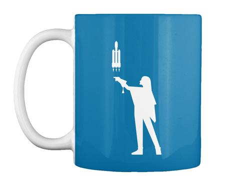 Falconer 4 Woman Mug [Int] #Sfsf Royal Blue Mug Front