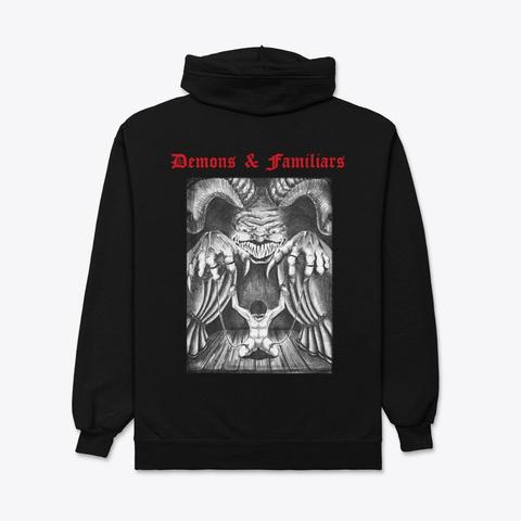 Demons & Familiars Edition Black T-Shirt Back
