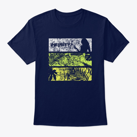 Infinity Collection #3 (Summer 2020) Navy T-Shirt Front