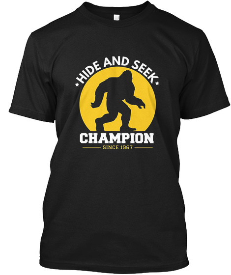 5d5bbca4 Hide And Seek Champion Funny Bigfoot Products from Hide & Seek ...