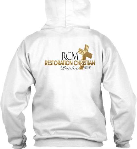 Rcm Teen Ministry White T-Shirt Back