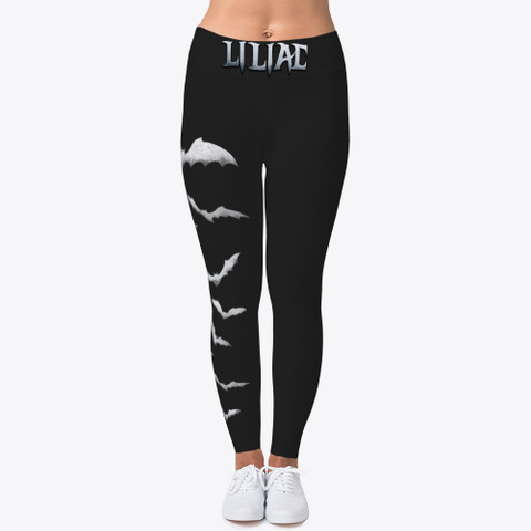 Liliac Leggings Black T-Shirt Front