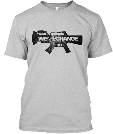 Wearechange Light Steel T-Shirt Front