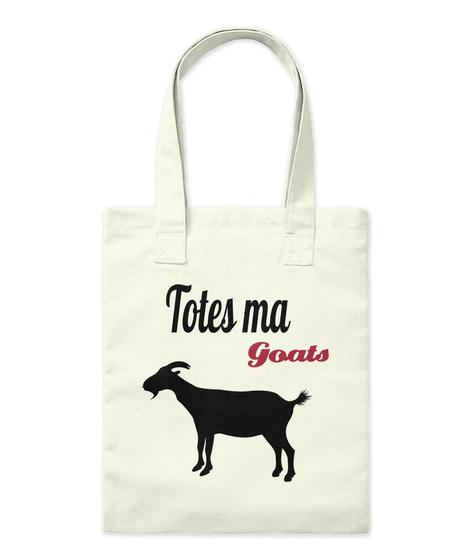 Totes Ma Goats Natural Tote Bag Front