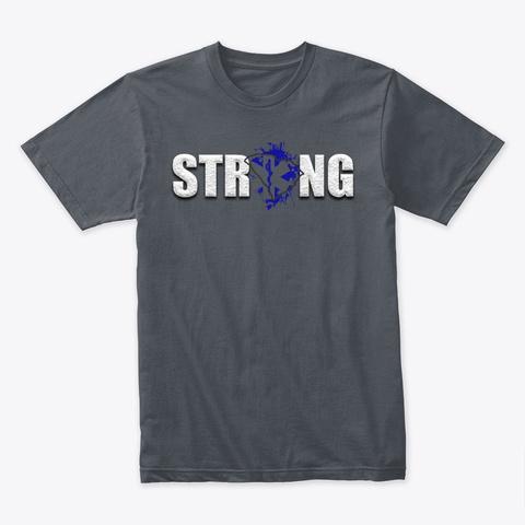South Carolina Ems Strong Heavy Metal T-Shirt Front