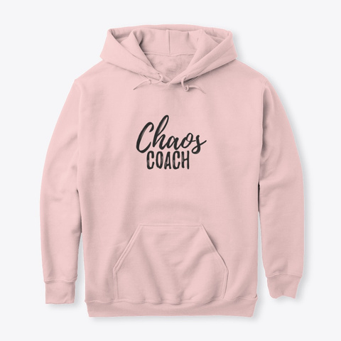 The Chaos Coach Light Pink T-Shirt Front