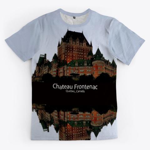 Chateau Frontenac Medium Grey T-Shirt Front