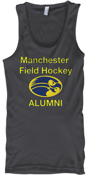 Manchester Field Hockey Alumni Charcoal T-Shirt Front
