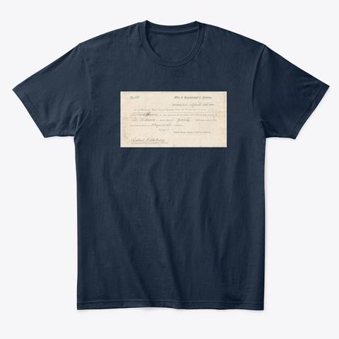 Freedmen's Bureau New Navy T-Shirt Front