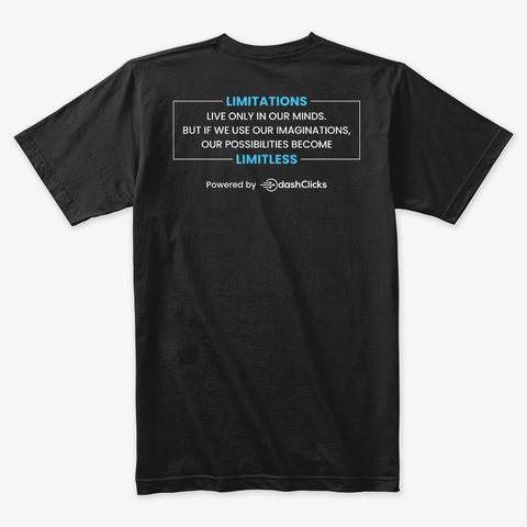 #Marketers Unite Black T-Shirt Back