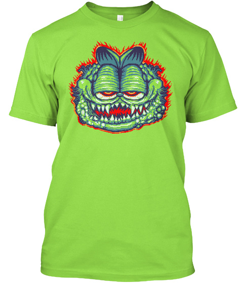 Gorefield Complete Lime T-Shirt Front